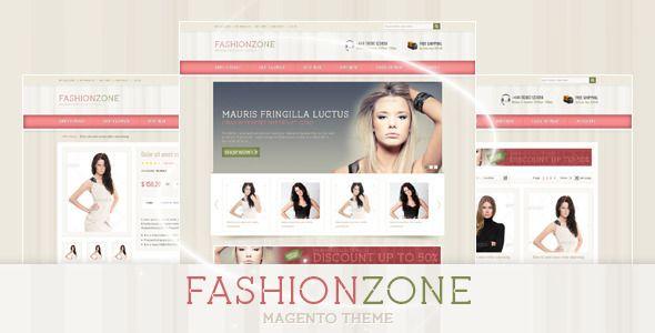 Fashion Zone Magento Theme