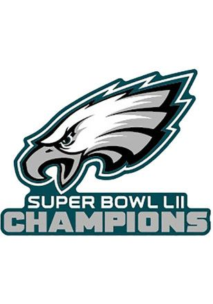Philadelphia Eagles Super Bowel Champs 4x4 Perfect Cut Decal. Find this Pin  and more on Eagles Super Bowl Champions ... d0e06c845