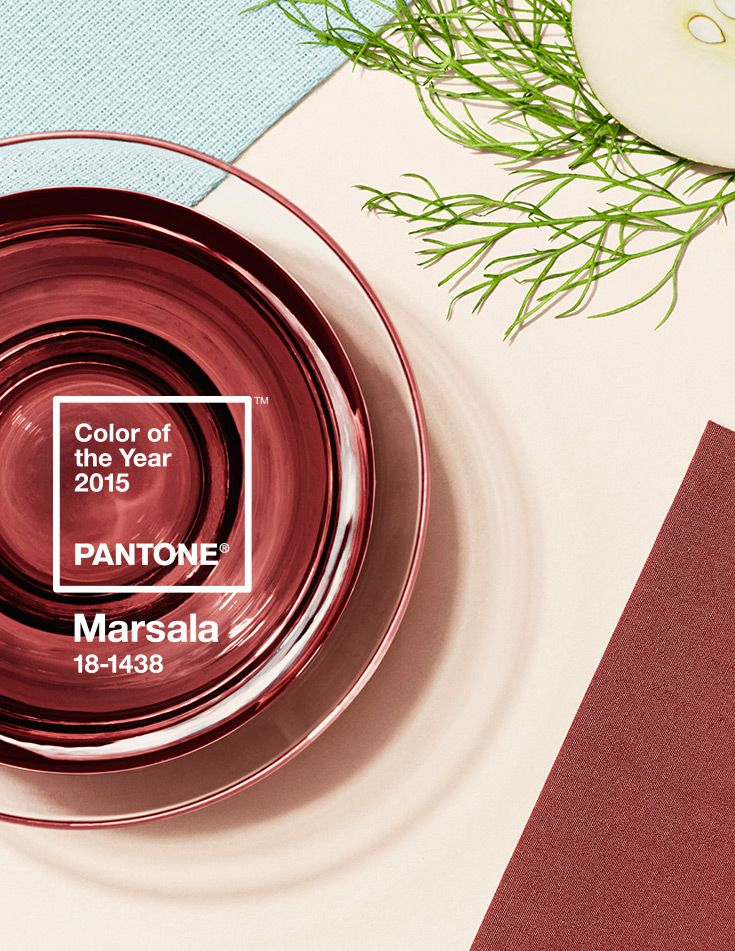 Pantone Color of the Year for 2015 Marsala