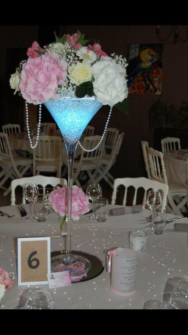Decoration table mariage - Réalisation Fée de table