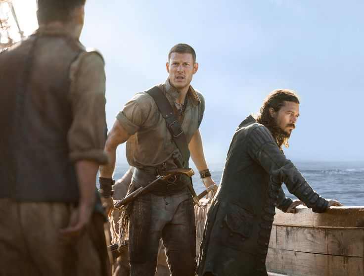 Billy Bones (left) in Black Sails - Tom Hopper #TomHopper #BlackSails #BillyBones