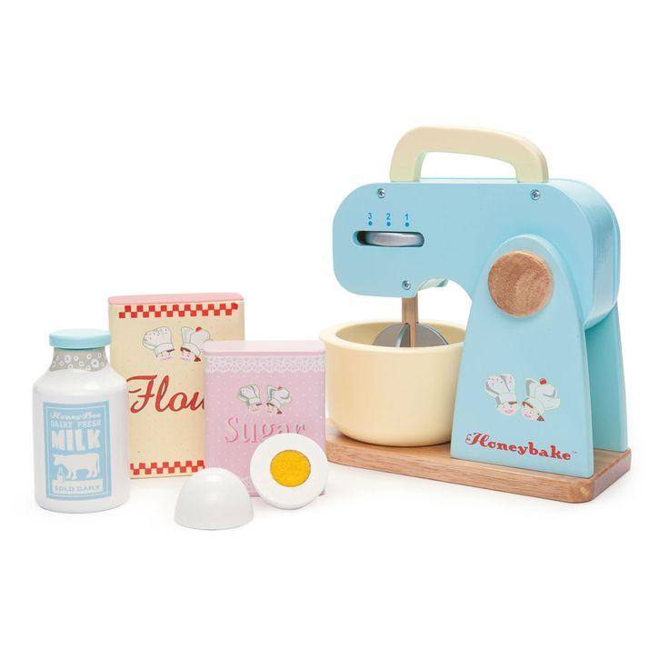 Le Toy Van Mixer Set: Wenn Im Puppenhaus Besuch Erwartet Wird, Dann Muss  Auch Ein Leckerer Kuchen Gebacken Werden. Mit Dem Mixer Set Von Le Toy Van  Ist Das ...