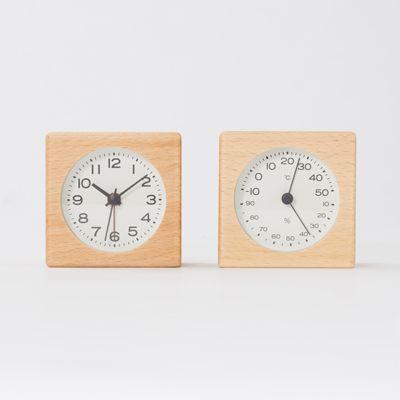 ブナ材時計(アラーム機能付) 置時計 | 無印良品ネットストア