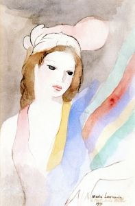 Girl with a Scarf - Marie Laurencin - The Athenaeum
