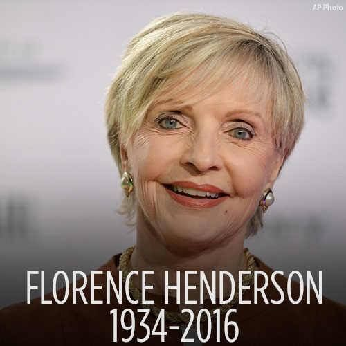 """25 Unknown Facts about Florence Henderson Rest in peace, Florence Henderson. The beloved TV mom from """"The Brady Bunch"""" has passed away at age 82. R.I.P."""