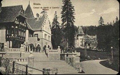 Corpul de garda si Castelul Pelisor