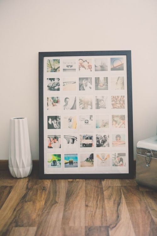 17 meilleures id es propos de cadre photo polaroid sur pinterest polaroid photo diy et. Black Bedroom Furniture Sets. Home Design Ideas