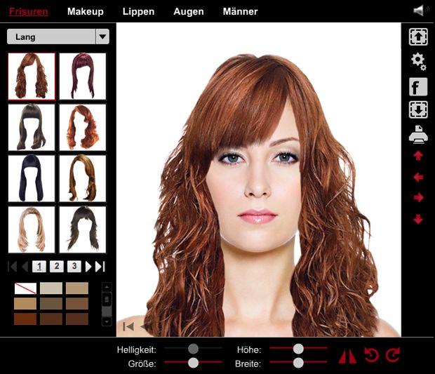 Haarfarben Testen Mit Eigenem Foto Kostenlos Modische Frisuren Für