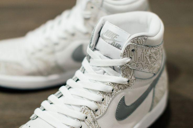 """Air Jordan 1 Laser """"30th Anniversary"""" #Sneakers"""