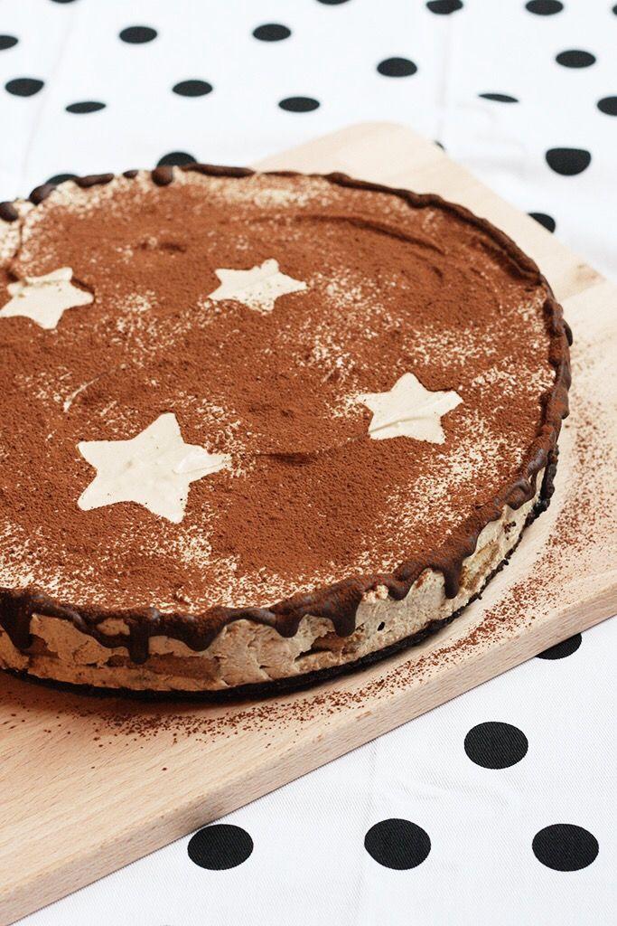 Tiramisu Cake with Oreo Cookies ❥