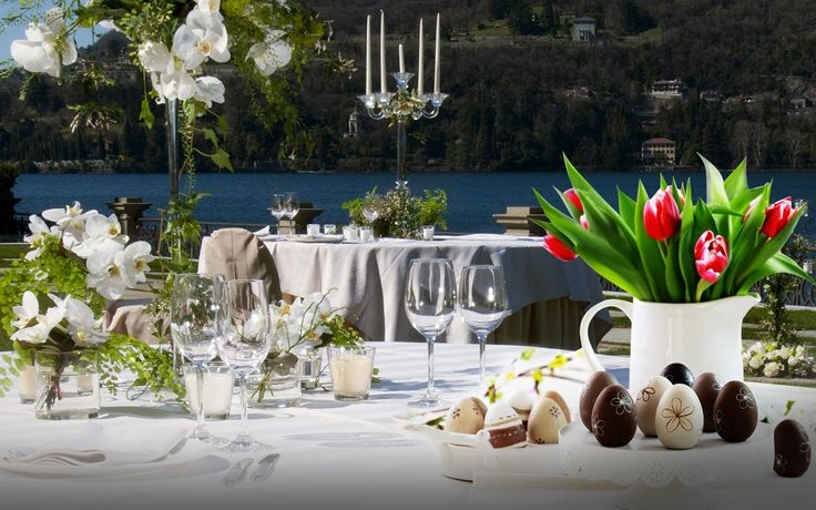Traditional Italian Easter Lunch