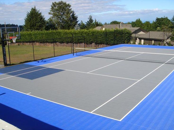 17 Best Ideas About Backyard Tennis Court On Pinterest