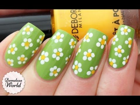 How To: Spring Daisies Nail Art (for Deborah Milano BeautyClub)