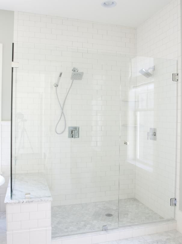 acrylic panels for bathroom walls%0A Photo of White Bathroom project in Holladay  UT by Tiek Built Homes