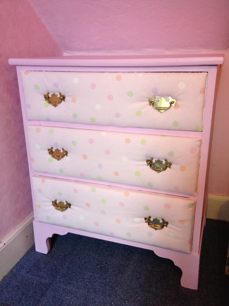 finally finished baby girl 39 s dresser padded drawers with laura ashley fabric on sale 5 meter. Black Bedroom Furniture Sets. Home Design Ideas