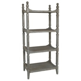 Wooden baker's rack: great for a vintage-style kitchen