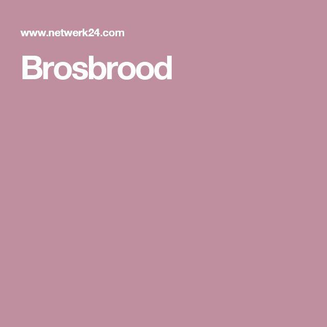 Brosbrood