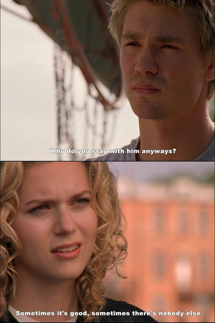 One Tree Hill - Lucas Scott (Chad Michael Murray) & Peyton Sawyer (Hilarie Burton)