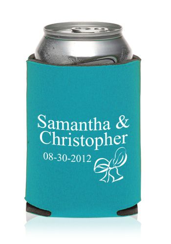 Personalized Collapsible Wedding Can Cooler | KZW45 - Discount Mugs