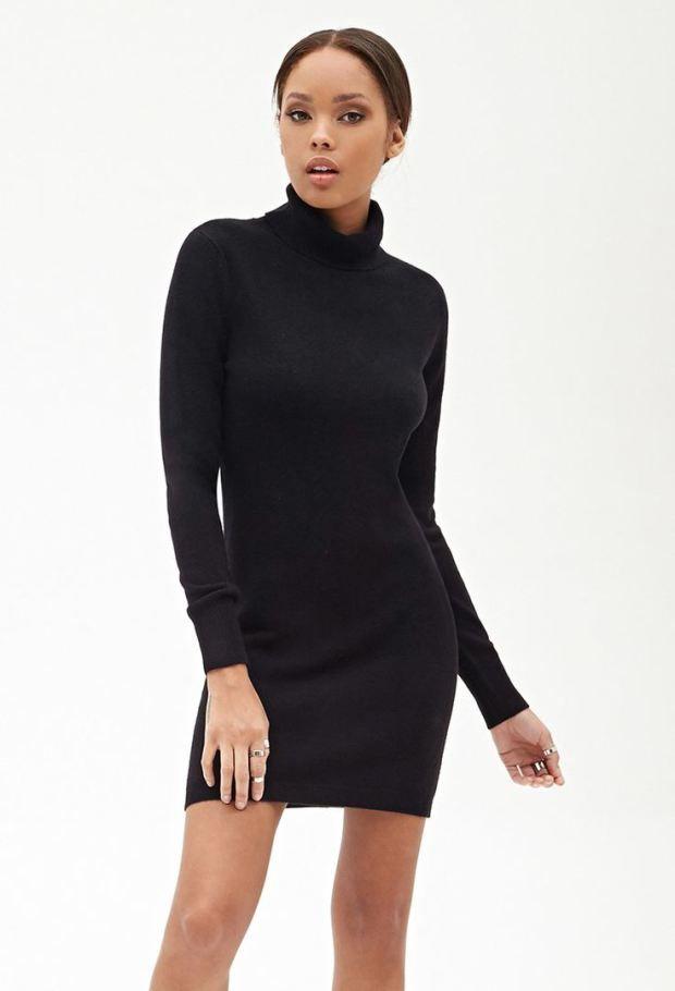 Μαύρο φόρεμα ζιβάγκο μινι