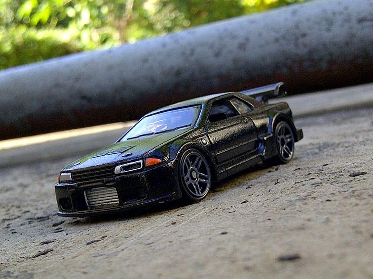 Custom Hot Wheels Nissan Skyline R32 GT-R. #hotwheels #diecast #gtr #jdm #car
