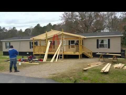 Ranch Style House Front Porch Addition Youtube House