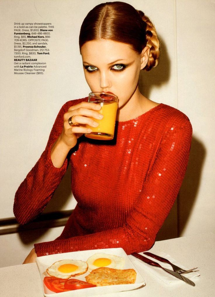 Lindsey Wixson by Terry Richardson for Harper's Bazaar US October 2011