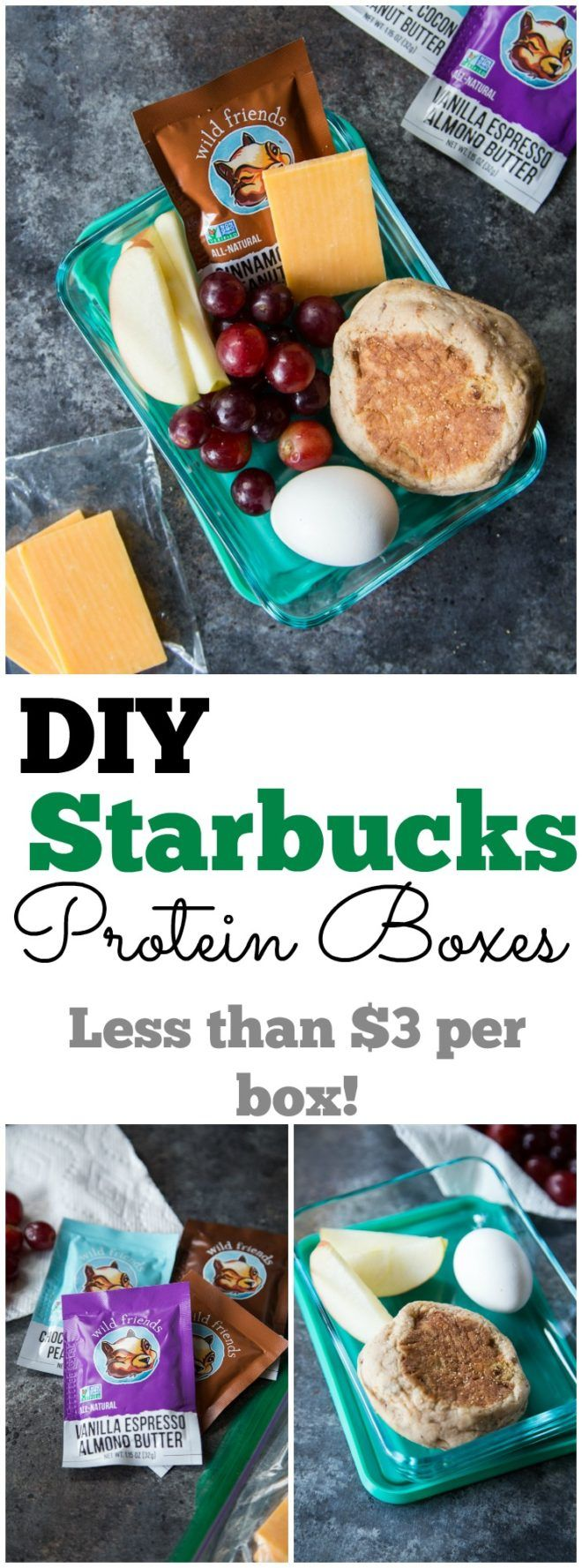 DIY Starbucks Protein Boxes - Country Cleaver