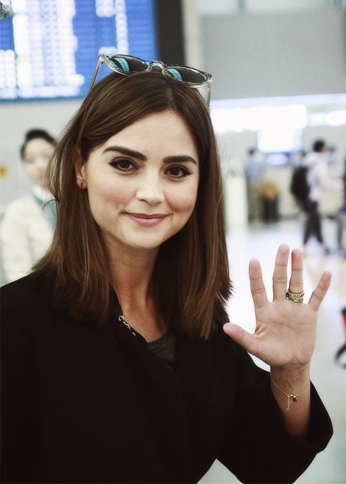 Jenna Coleman's eyebrows <3