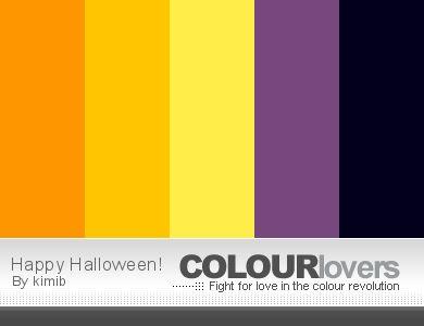 Week 26 Coloring Palette [HALLOWEEN SPECIAL] - Color Me Palettes - Color Me Forum