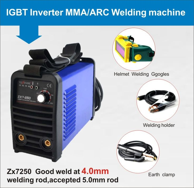 Inverter DC welding machine 250A factory direct sale from China MMA welder for DIY #Affiliate