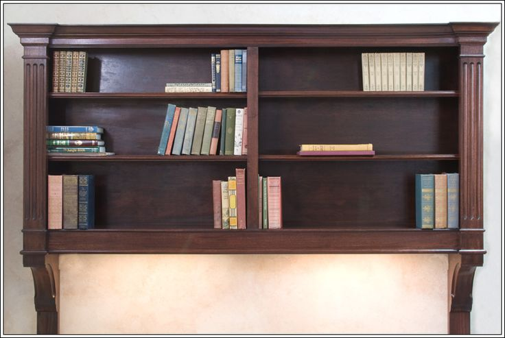Wall Mount Bookcase Home Office Space Pinterest