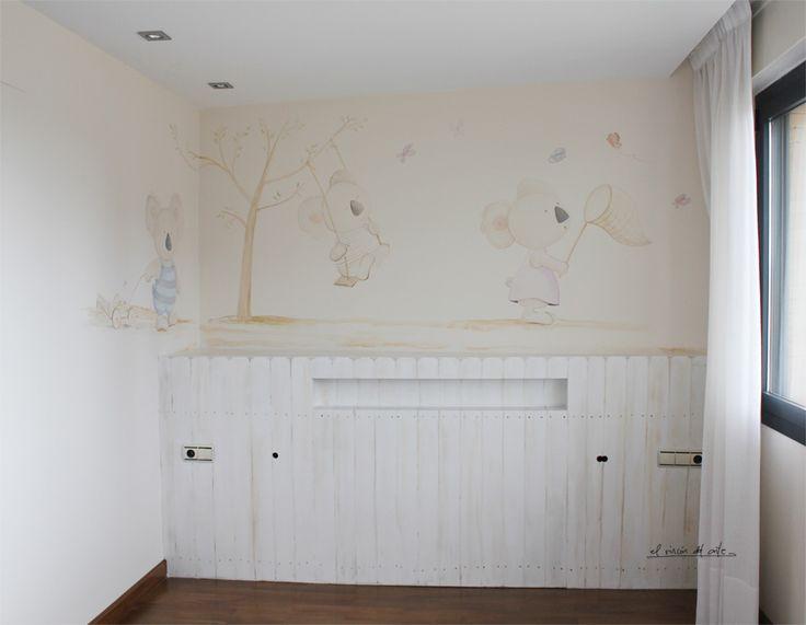 Mural infantil by el rincón del arte