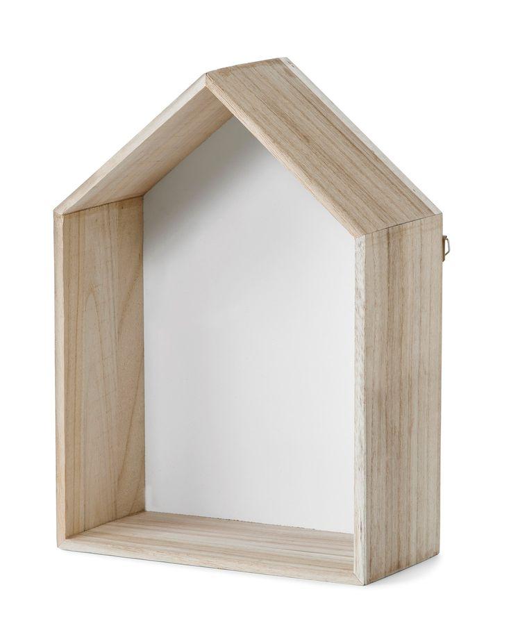 Produktbild - Hus, Vägghylla 2-pack