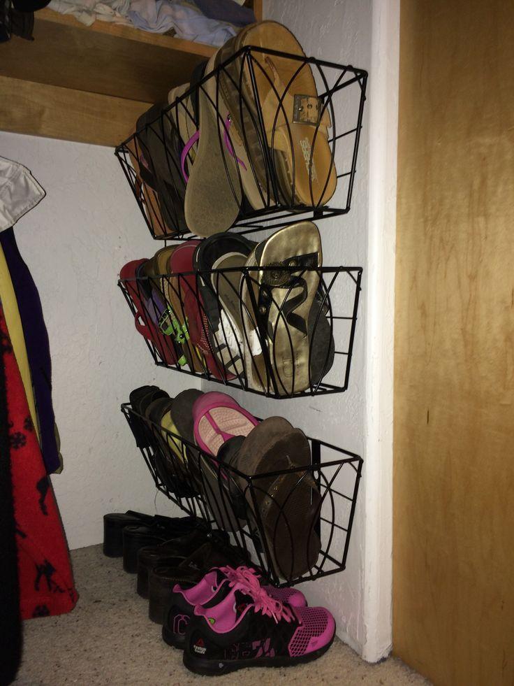 Flip flop storage!
