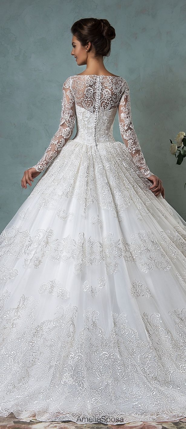Amelia Sposa 2016 Wedding Dress   Belle The Magazine - Belle The Magazine