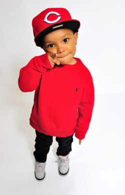 Kid swag... But with a Niners cap