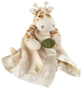 Baby Aspen Little Expeditions Plush Rattle Lovie with Crinkle Leaf, Jakka The Giraffe by Baby Aspen. $15.20. Other features include baby-safe embroidered eyes, giraffe horns, cream-colored satin trim, a decorative leaf applique and embroidered accents along the bottom of the lovie. Polyester lovie can be surface-washed. Plush, beautifully detailed lovie in giraffe print with giraffe's head, front legs holding a sound-making, green crinkle leaf and tail on the bac...
