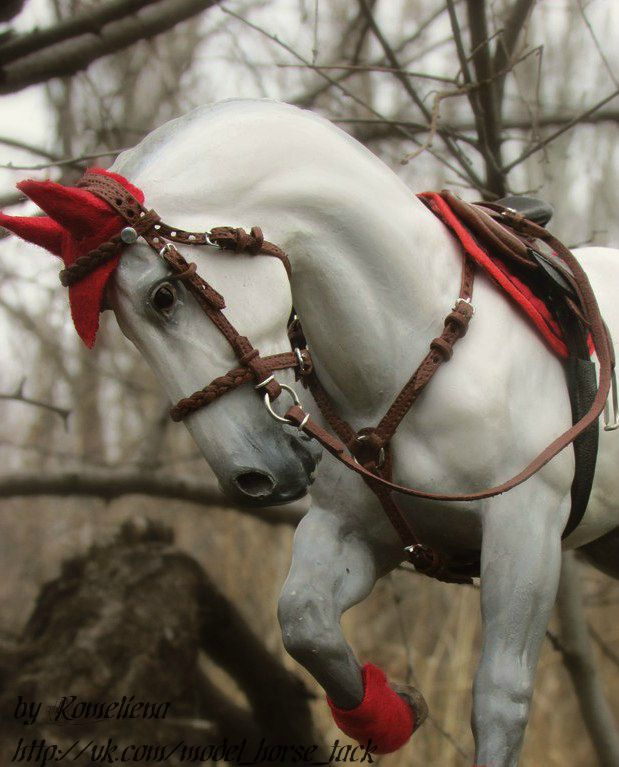 Model horse - both horse and tack are very nicely done