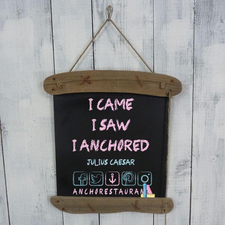 """VENI VIDI VICI"" Julius Caesar ⚓ ANCHOR Cafe & Restaurant - Taste the difference!  #icameisawiconquered #venividivici #anchorcafe #anchorrestaurant #anchorestaurant #milsonspoint #kirribilli #lavenderbay #northsydney #nthsyd #lowernorthshore #neutralbay #mosman #crowsnest #sydneyrestaurants #sydneycafes #sydneyrestaurant #sydneycafe #sydneylife #sydneycity #sydneylocal #sydneyeats #sydneydining #sydneypizza #sydneypizzeria #sydneydessert #sydneyfood #sydneyfoods #wineanddine #pizzaandpasta"