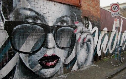 RONE New Mural @ Melbourne, Australia