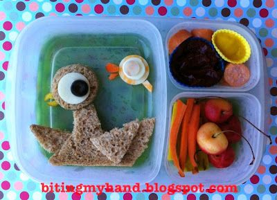 """""""Don't Let the Pigeon Eat this Lunch"""" inspired by the Mo Willems Pigeon series and """"The Pigeon Finds a Hot Dog"""""""
