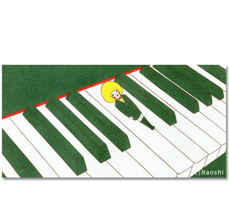 Keyboards and me -I am here- by Naoshi