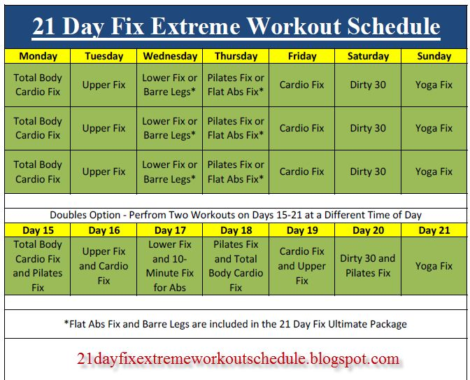 Best 25+ 21 day fix schedule ideas on Pinterest Beachbody 21 day - workout calendar template