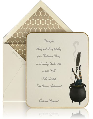 the stationery place: paperless post halloween invitations