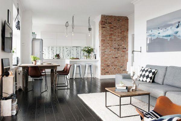 Un precioso y luminoso apartamento en Goteborg