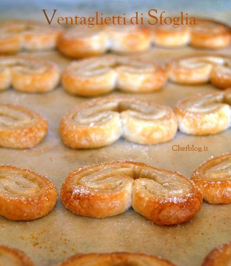 ventaglietti di pasta sfoglia http://www.chefblog.it/ventaglietti-di-pasta-sfoglia.html