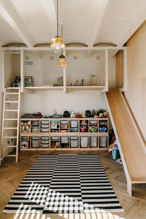 Vivienda san gervasio: habitaciones de niños de estilo de isabel lopez vilalta + asociados