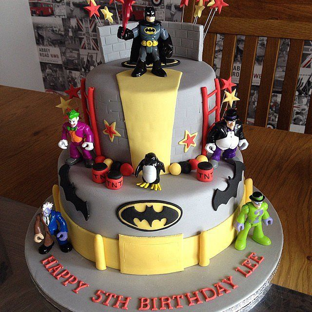 Coolest Birthday Cakes Batman