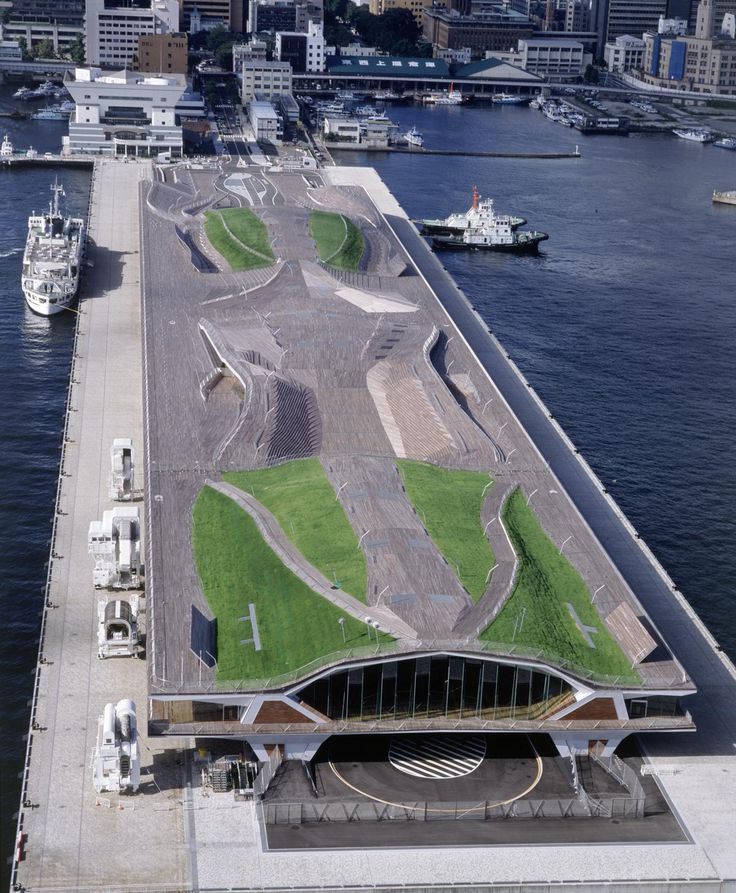 YOKOHAMA PORT TERMINAL • Yokohama, Japan • 2002 • FOA (Forigen Office Architects) http://www.f-o-a.net/